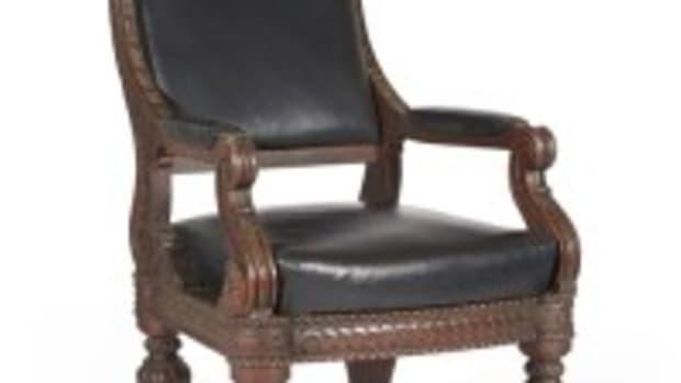 Historic 'Brady chair' (Photo courtesy Bonhams)