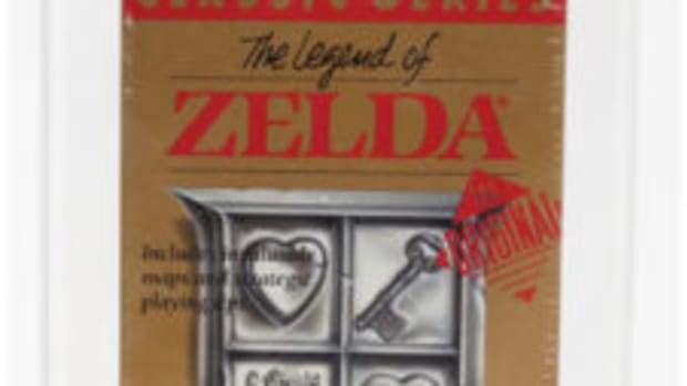 The Legend of Zelda (NES, Nintendo, 1987) Wata 9.4 B+ (Seal Rating), $3,360.