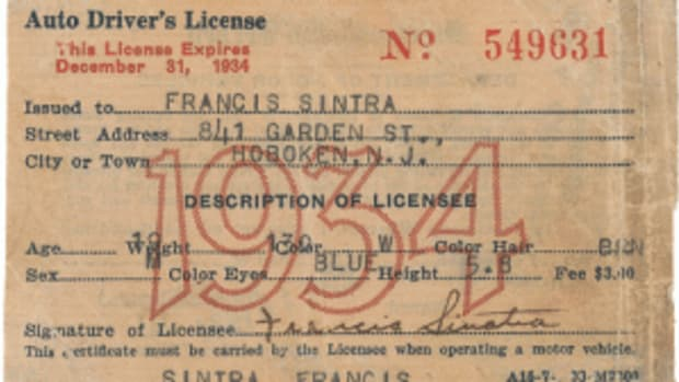 Sinatra license