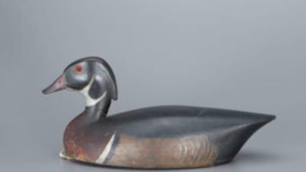 Chambers wood duck drake