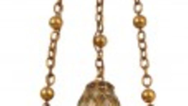 Tiffany Moorish-style lantern