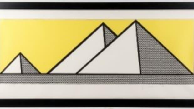 """Lichtenstein """"Pyramids"""""""
