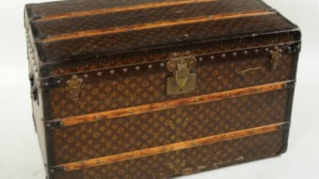 Vuitton trunk