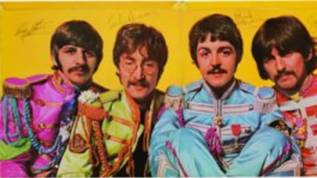 "Signed ""Sgt. Pepper's Lonely Hearts Club Band"" album"