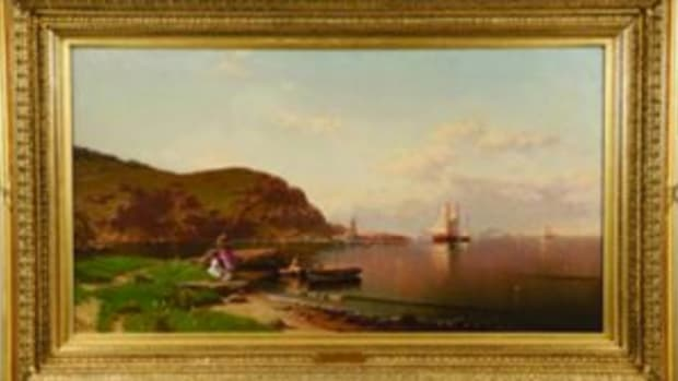 Seascape painting by Alfred Thompson Bricher
