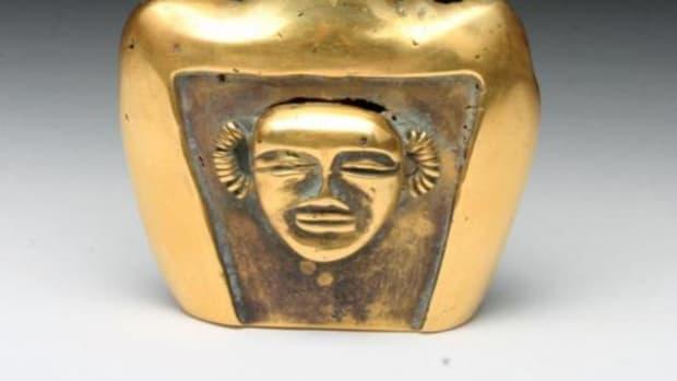 Gold vessel