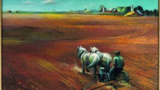 Joe Jones' painting