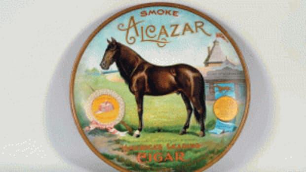 Alcazar cigar charger ad