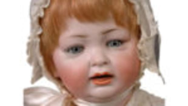 Hertel & Schwabb character baby doll. Courtesy of Ruby Lane
