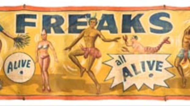 Freaks Alive, $3,000-$5,000. Photos courtesy Potter & Potter Auctions