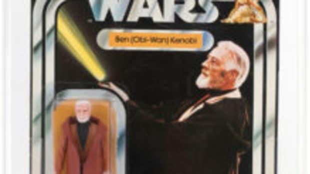 Obi-Wan action figure blister card