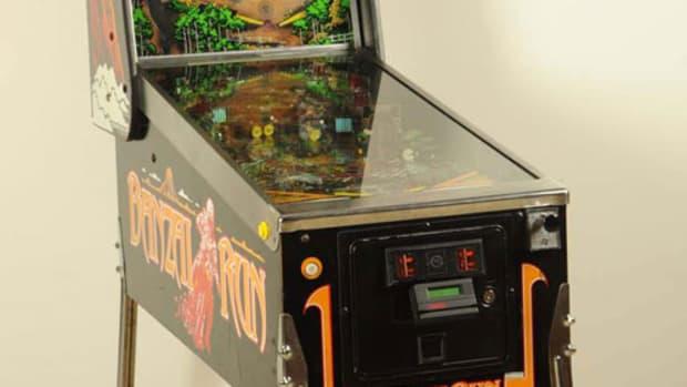 Banzai Run pinball