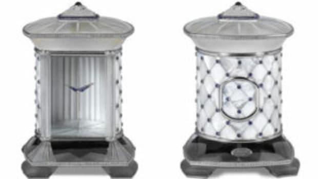 M.S. Rau clock