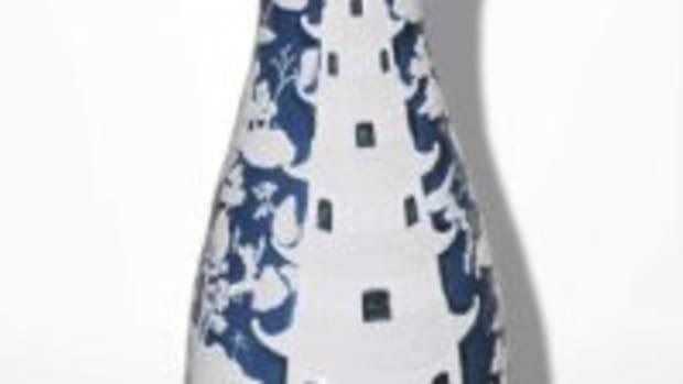 Porcelain palace vase
