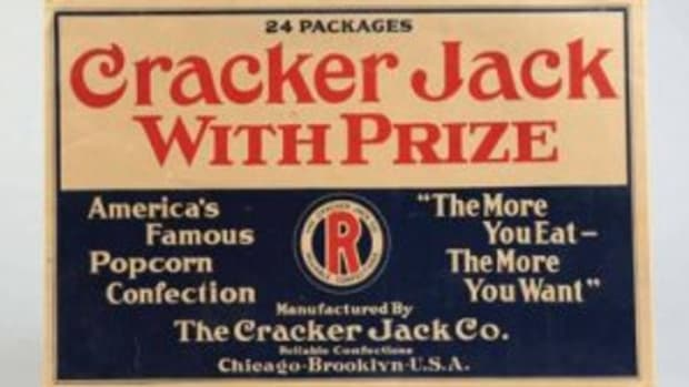 Cracker Jack vendor box