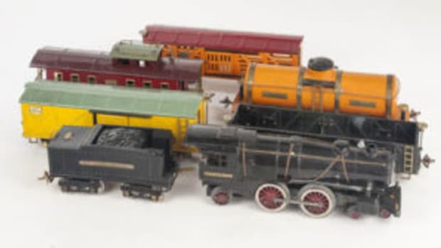 Ives Railway Freight Train set