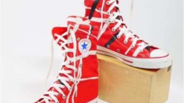 Eddie Van Halen Chuck Taylor's.