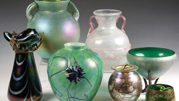 Selection of Art Glass