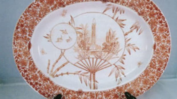 "Figure 1: 13"" Cairo platter. Courtesy of Kelly Keating"