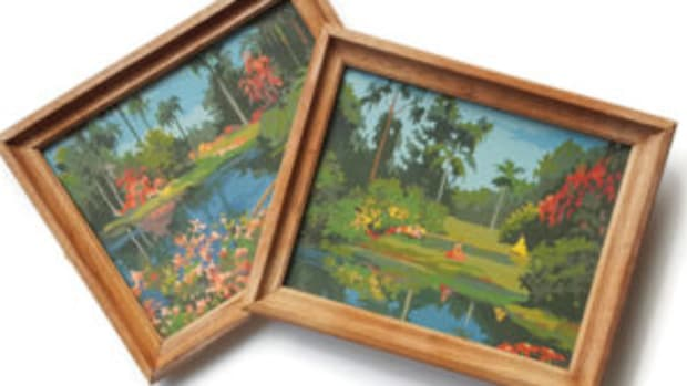 Cypress Gardens painting by numbers