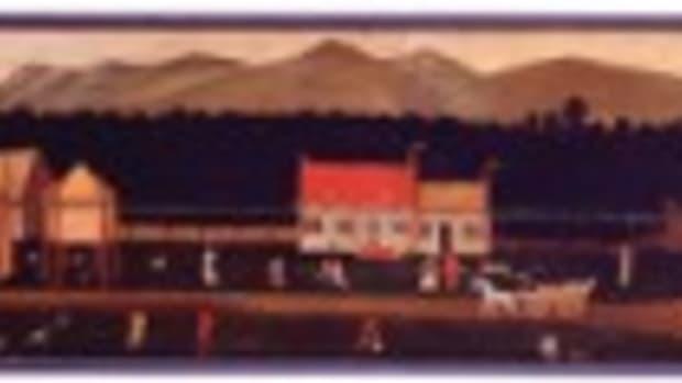 Van Bergen painting