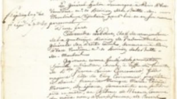 napoleon josephine marriage doc