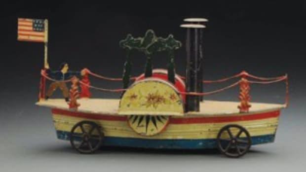Sidewheeler boat