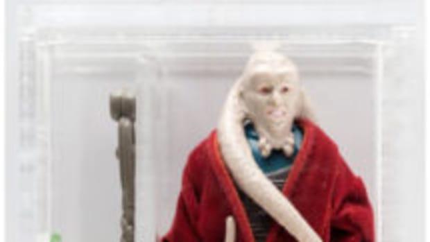 Rare Bib Fortuna Star Wars action figure