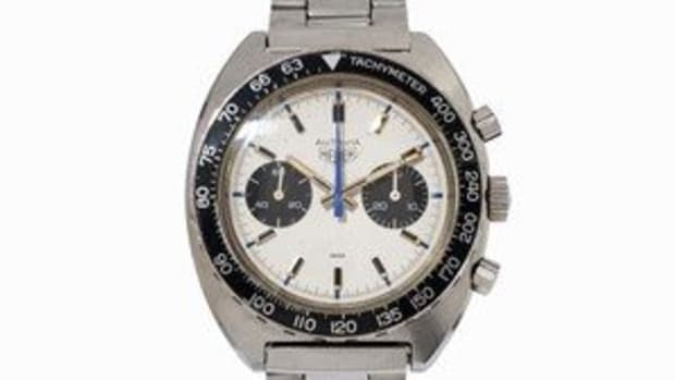 Huer Autavia watch