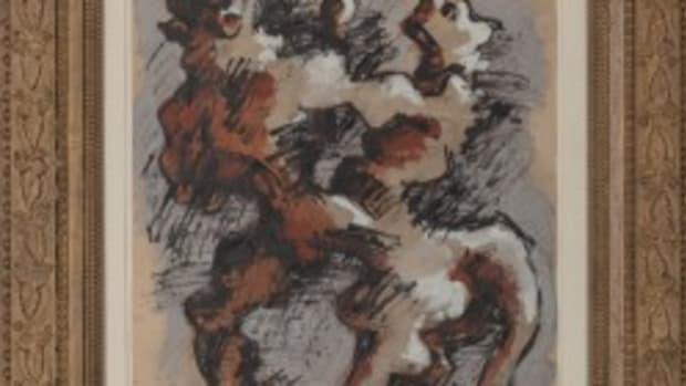 Lipchitz painting