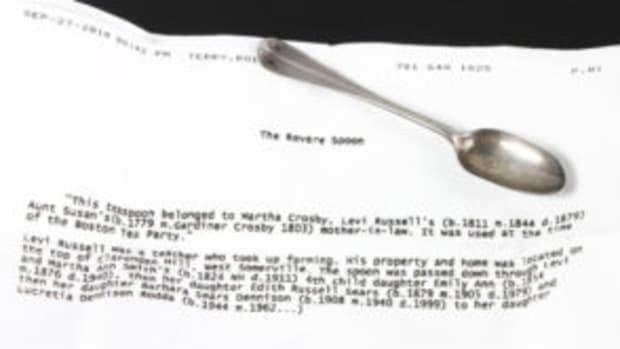 Revere spoon
