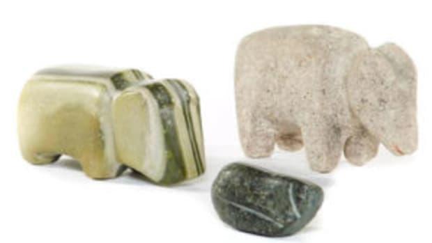 Salado stone effigies