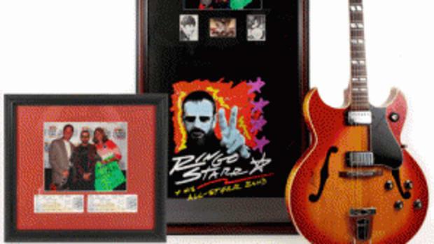 Gibson guitar Ringo Starr