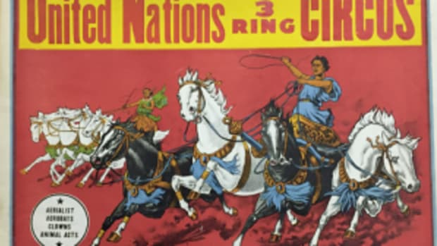 United Nations circus poster