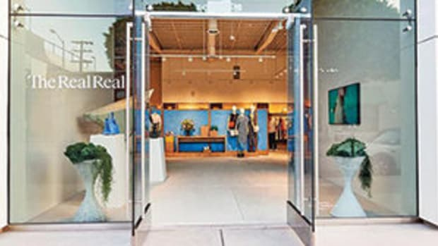 The RealReal has three brick and mortar stores in Los Angeles, including this one on Melrose Avenue. Image courtesy of The RealReal