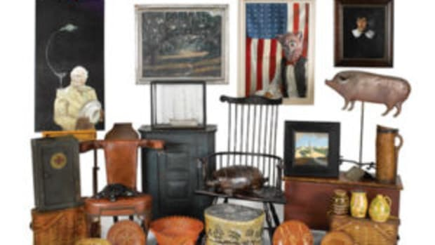 Selection of items from Pook's July 14 auction