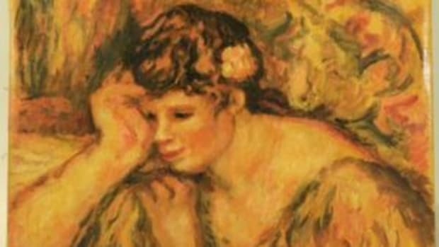 small painting by Pierre Auguste Renoir