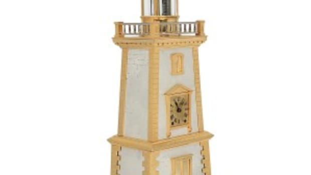 French lighthouse clock