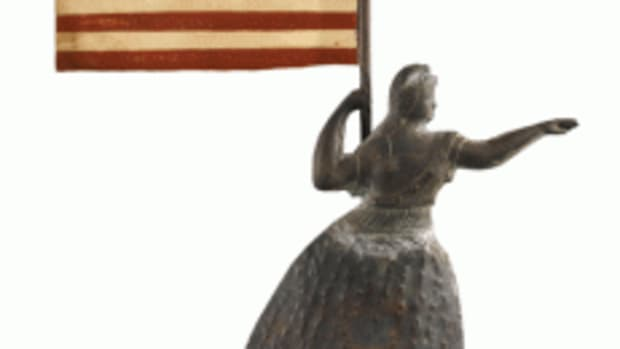 Liberty weathervane