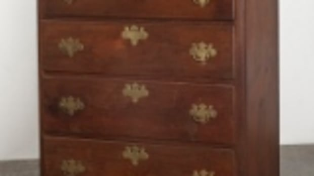 Chippendale high chest