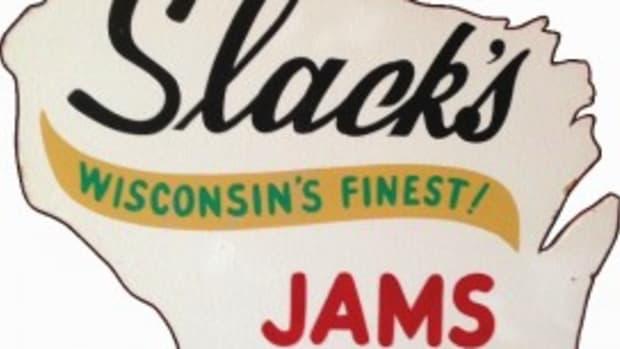 Slack's trade sign