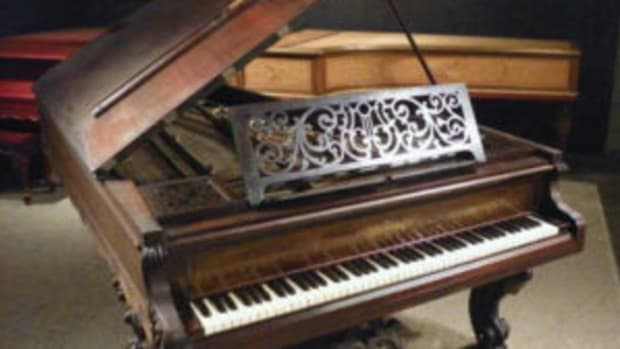 Chickering concert piano
