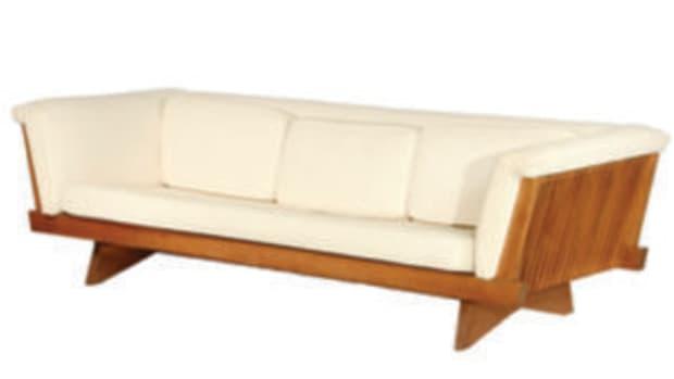 George Nakashima sofa