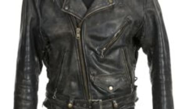 Swayze 'Dirty Dancing' leather jacket