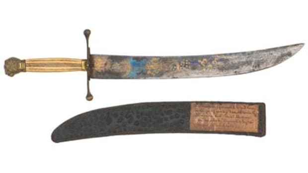 Davey Crockett Bowie knife