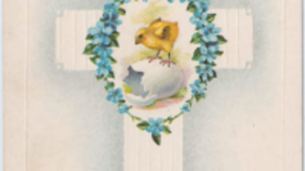 Easter Gladness postcard