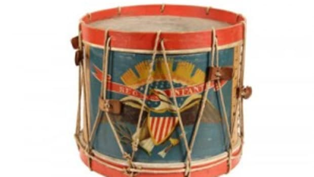 Civil War field drum