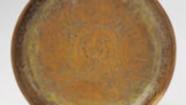Copper Dish, circa 1614