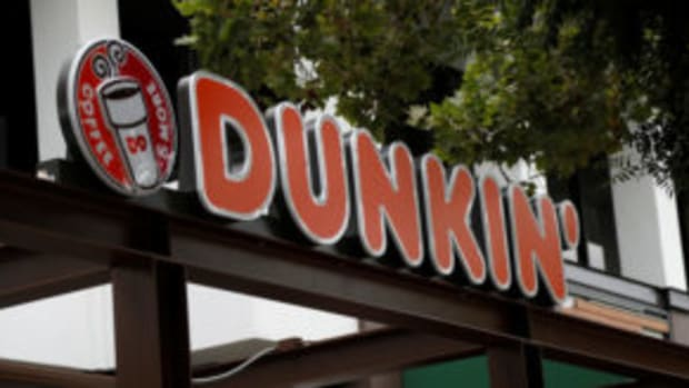 Dunkin sign after rebranding