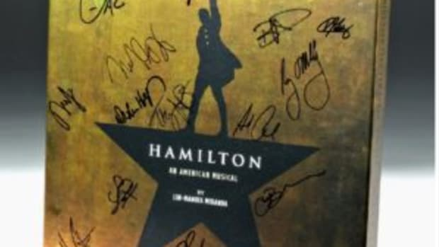 Hamilton LP recording signed